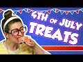 Firework Rice Krispie Treats with Candy Pop Rocks for 4th of July! | Arts and Crafts w Crafty Carol