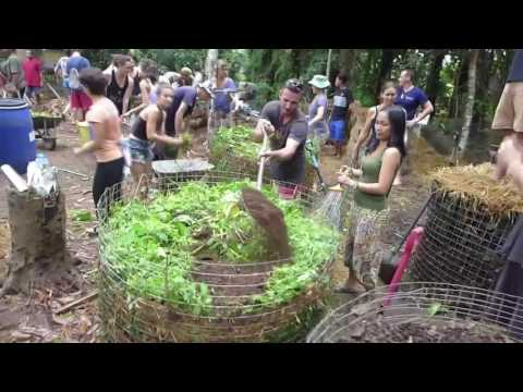 Permaculture Compost Rave Bali
