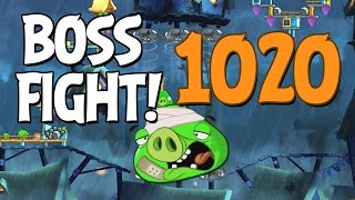 getlinkyoutube.com-Angry Birds 2 Boss Fight 144! King Pig Level 1020 Walkthrough - iOS, Android