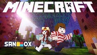 getlinkyoutube.com-엄청 작아진 도티와 잠뜰, 거대 세상을 탈출하라!! [초미니 스피드런: 마인크래프트] Minecraft - Pixelized - [도티]
