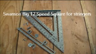 getlinkyoutube.com-Swanson Big 12 Speed Square for Stringers