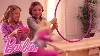 Out-of-This World Obstacle Course with the Barbie™ Starlight Adventure Flying RC Hoverboard | Barbie