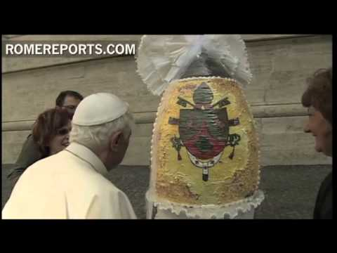April 2012  Pope celebrates his 85th birthday