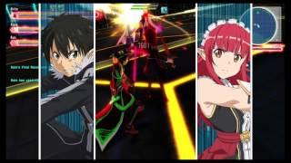 getlinkyoutube.com-Sword Art Online: Lost Song - Lv 1000 Black Lotus - Better sword than Excalibur!