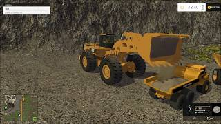 getlinkyoutube.com-Farming simulator 2015 mining, Hauling to the wash plant!!