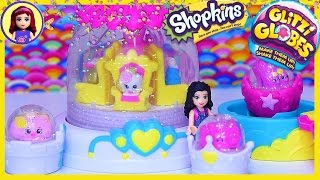 getlinkyoutube.com-Shopkins Glitzi Globes Pretty Fashion Parade Set Unboxing Build Review Silly Play - Kids Toys