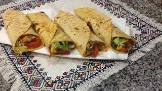 getlinkyoutube.com-تحضير شاورما بالدجاج بصلصة مميزة طريقة سهلة و اقتصادية How to prepare Chicken Shawarma