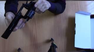 getlinkyoutube.com-Сигнальный револьвер Ekol Viper 6,0 черный