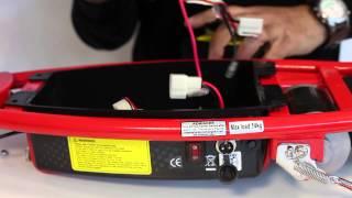 getlinkyoutube.com-Razor E100 battery replacement how to