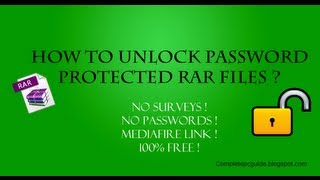 getlinkyoutube.com-How To Open Password Protected RAR Files Without Password?
