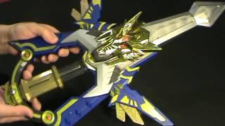 getlinkyoutube.com-Madan Senki Ryukendo DX GekiryuKen Sword w/ 4 keys From Japan