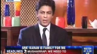 """getlinkyoutube.com-""""Karan and I sleep together"""": Shahrukh Khan interview 2010"""