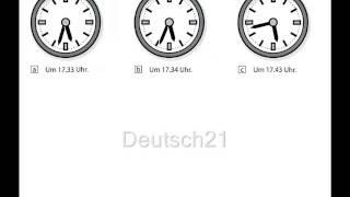 getlinkyoutube.com-Hörübungen Start Deutsch 1 Uhrzeit und Zeitangaben