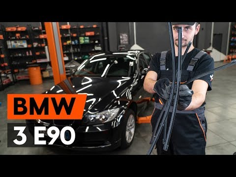 Как заменить щётки стеклоочистителя наBMW 3 (E90) [ВИДЕОУРОК AUTODOC]