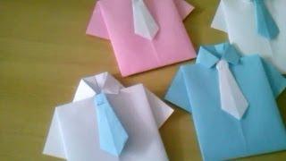 getlinkyoutube.com-Lembrancinha para o dia dos pais com dobradura em papel