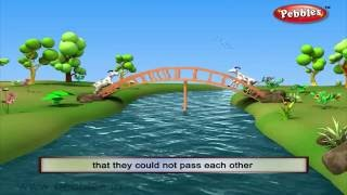 getlinkyoutube.com-Two Silly Goats | 3D Grandma Stories in English | 3D Moral Stories in English For Kids