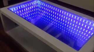 Kako da napravite sto sa ogledalom i led osvetljenjem