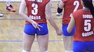 getlinkyoutube.com-Volleyball Girls Amazing Moments