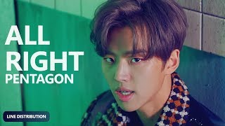 PENTAGON   All Right (Line Distribution) | TheSeverus