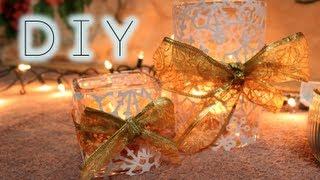 getlinkyoutube.com-DIY Holiday: Christmas Candle Holders