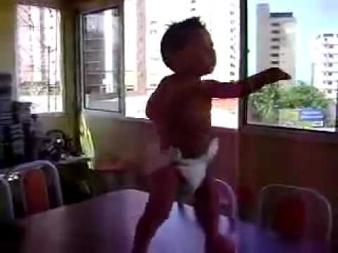 Baby dance that is so funy Lol.