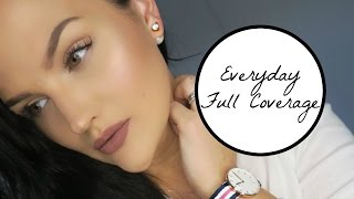 getlinkyoutube.com-Everyday Full Coverage Makeup Tutorial