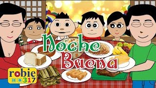 Noche Buena Animated | Filipino / Tagalog Christmas Song