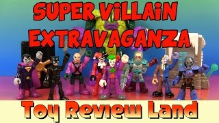 Imaginext Super Villain Extravaganza: with The Joker, Harley Quinn, Cat Woman, Batman, and More!