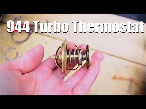 Thermostat & Coolant Replacement || Porsche 944 Turbo || What Coolant Is Best Coolant?
