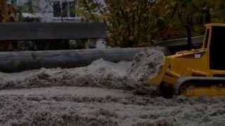 getlinkyoutube.com-Rc Bruder Umbau Dozer Cat D5