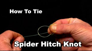 getlinkyoutube.com-How To Tie The Spider Hitch Fishing Knot
