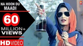 Haryanvi Songs   Na Hoon Du Maadi   Latest Haryanvi DJ Songs 2017   DP Sharma   Shivani Raghav