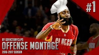 getlinkyoutube.com-James Harden Offense Highlights Montage 2015/2016 (Part 1) - King of Stepback