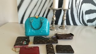 getlinkyoutube.com-Louis Vuitton Vernis Alma BB -What Fits Inside
