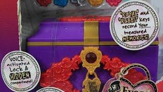 getlinkyoutube.com-Секретный электронный сундучок / Spellbinding Secret Chest - Ever After High - Mattel - BJH43