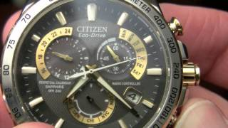 getlinkyoutube.com-Citizen Eco-Drive Review (Perpetual Chrono AT 52E)
