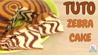♡• RECETTE GATEAU ZEBRÉ MOELLEUX ET FACILE - HOW TO MAKE A ZEBRA CAKE  •♡
