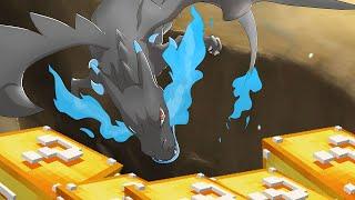 getlinkyoutube.com-Minecraft: LUCKYBLOCK POKEMON - MEGA CHARIZARD ! (c/ SIRKAZZIO) (PIXELMON MOD)