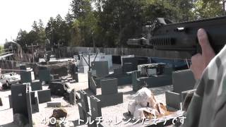 getlinkyoutube.com-バトン流速AK・VSR10 vs ノーマルレシーライフル 50m射撃