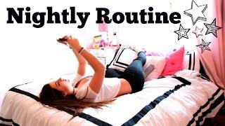 getlinkyoutube.com-My Nightly Routine 2015