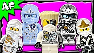 Lego Ninjago Zane WHITE NINJA Minifigures Complete Collection