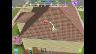 getlinkyoutube.com-Sims Freeplay How to Put Stairs In House May 2013