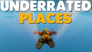 10 Underrated Places To Find LEGENDARY LOOT In Fortnite Battle Royale