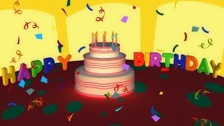 getlinkyoutube.com-Birthday Songs - Happy Birthday Song