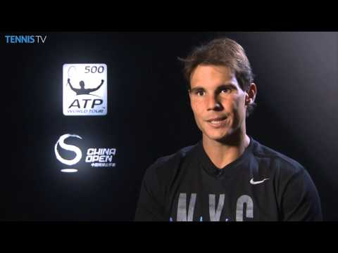 Beijing 2014 Tuesday Interview Nadal