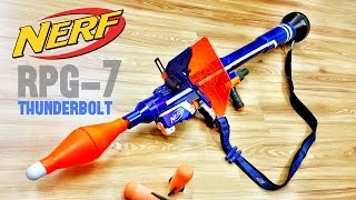 getlinkyoutube.com-[COMMUNITY] Nerf RPG-7 Thunderbolt   Nerf Bazooka / Rocket Launcher by Darryl C.