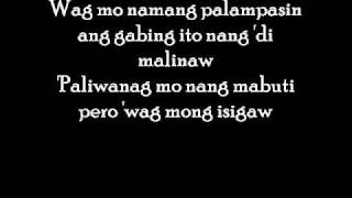 Panaginip - Crazy as Pinoy with lyrics