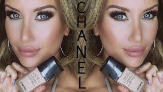 getlinkyoutube.com-New! Chanel Ultrawear Flawless Liquid Foundation Review and Demo(Fall 2016)