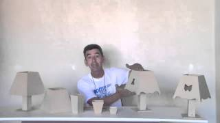 getlinkyoutube.com-Artesanato como fazer um abajur de mdf