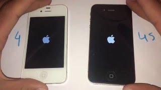 getlinkyoutube.com-iPhone 4S iOS 9.2.1 vs iPhone 4 iOS 7.1.2 - Speed Test